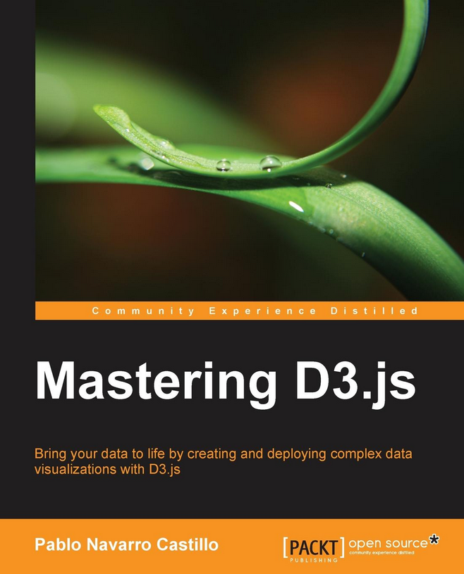 Mastering D3.js cover